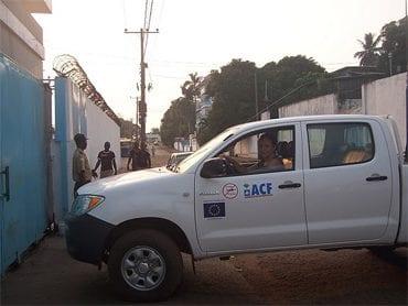Collega in Liberia