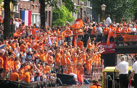 Oranje by Hansolo, Amsterdam on Flickr