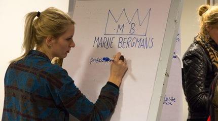 Aan de slag Marije Bergmans