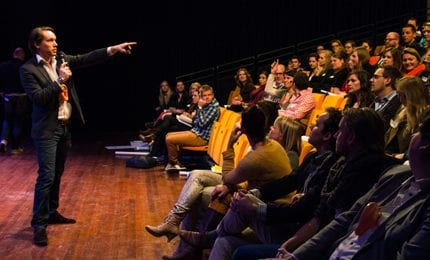Sprekers tijdens Careerwise Dreambuilders