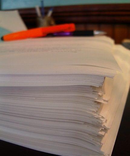 Pile-of-papers-by-Nancy-Waldman