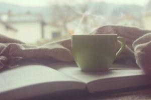 dekentje boek thee