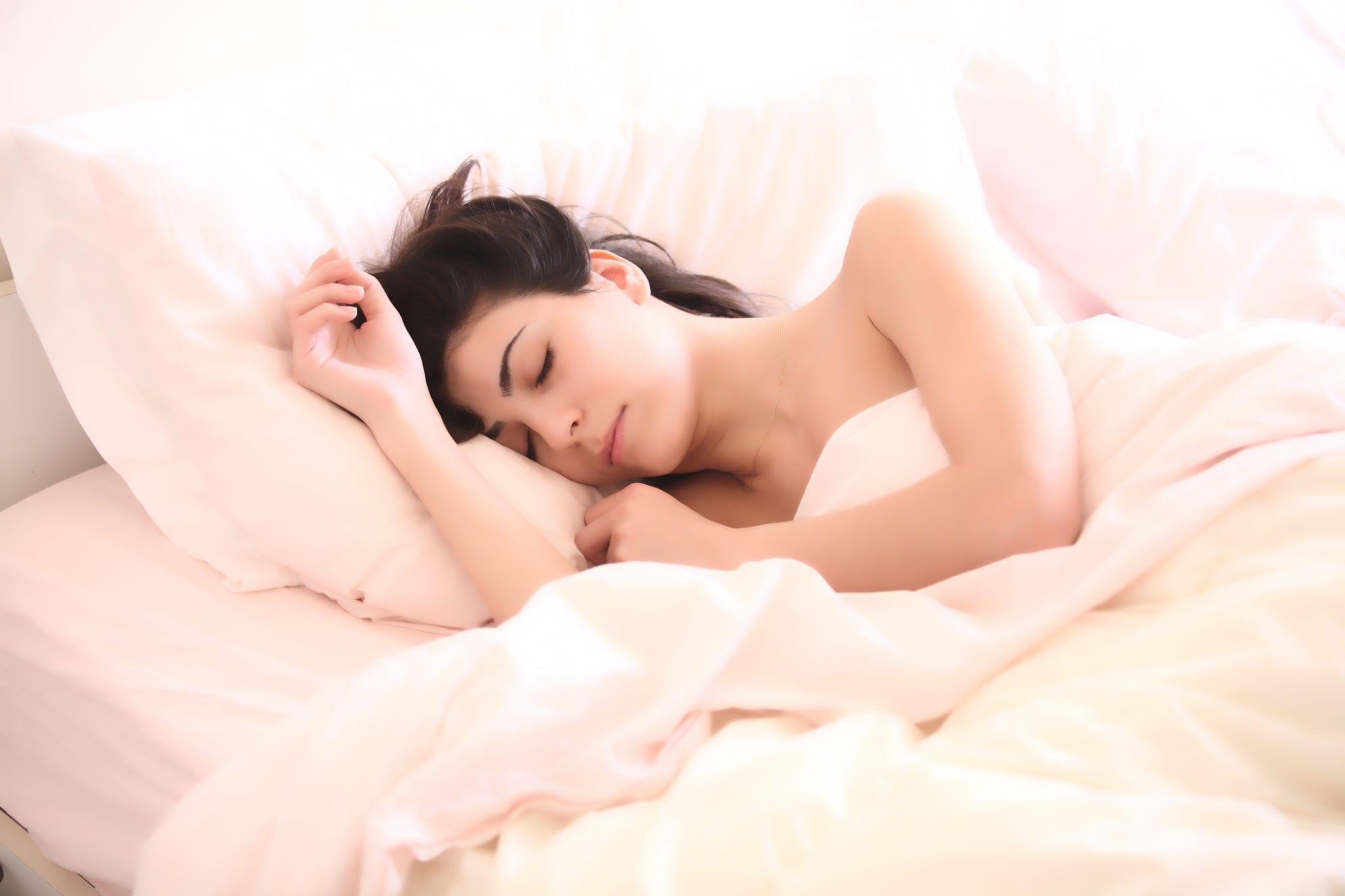 slapen als een roos