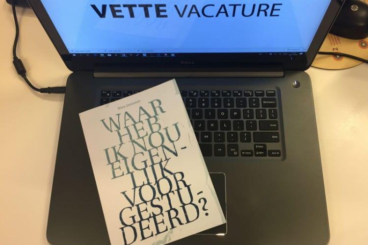 sollicitatie-inspiratie boek Nina Janssens - War heb ik nou eigenljik voor gestudeerd?