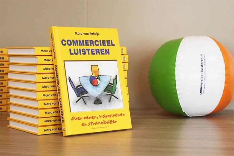sales training bij het boek Commercieel Luisteren van Marc van Katwijk