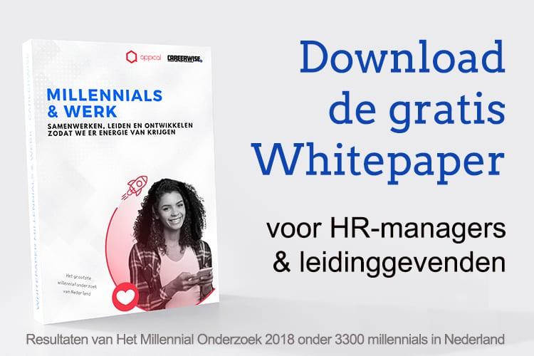 Download de Whitepaper Millennials & Werk van Careerwise
