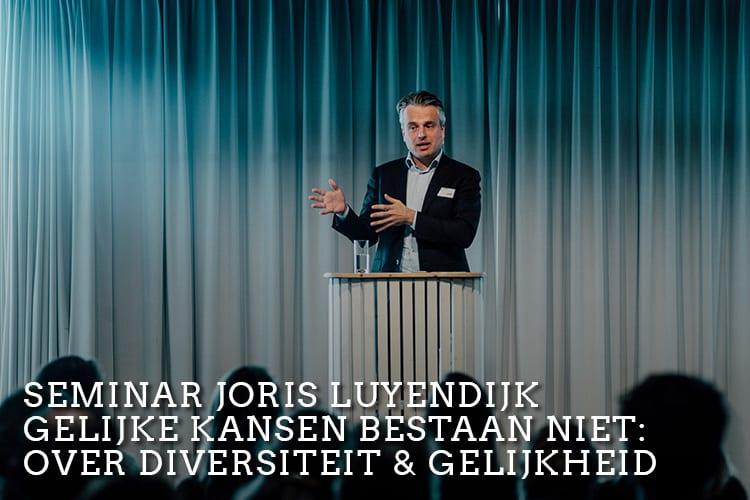 Joris Luyendijk 4YoungPeople seminar young professionals