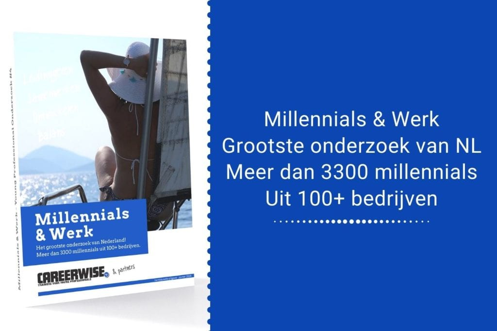 Millennials & Werk - Careerwise whitepaper op basis van Young Professional Onderzoek - download gratis - Download hier - Homepage
