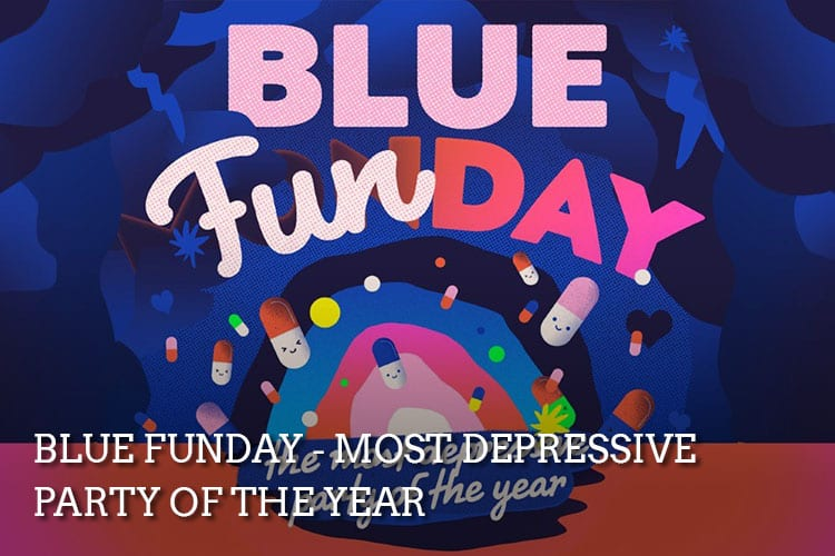 Blue Funday Most Depressive Party of the Year