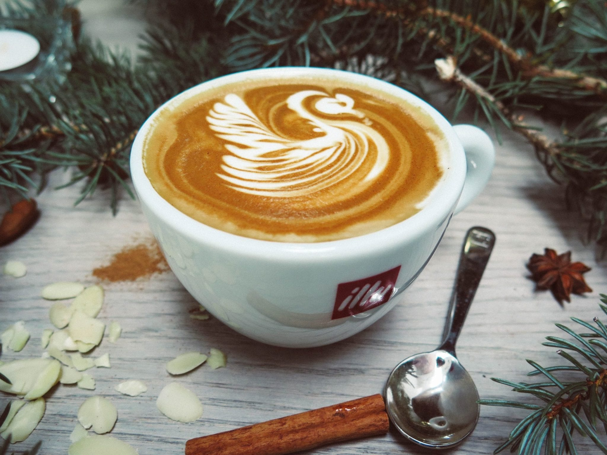 Kerst Zo krijg je jouw werk af én vier je vakantie-werk tijdens vakantie-by David Bares -white-cappuccino-with-swan-cream-design-189258