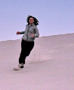 Manon in de duinen