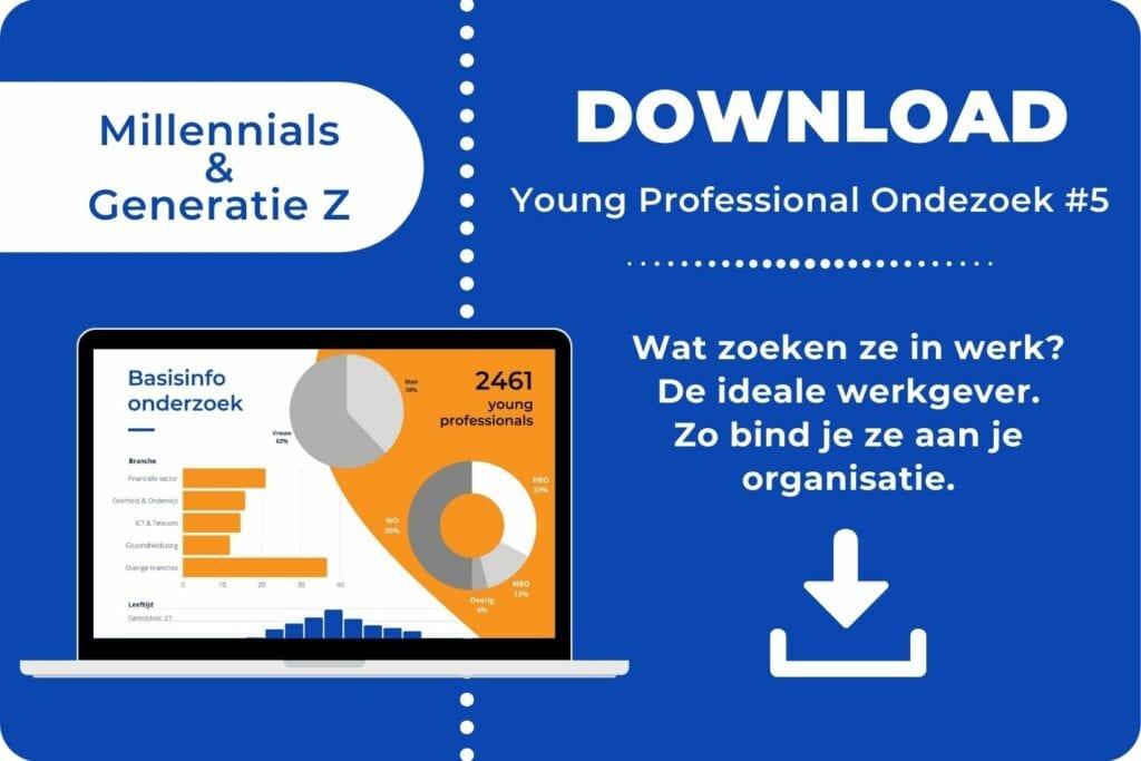 Onderzoek over Millennials Generatie Z en werk - download de whitepaper ©Careerwise 2021 - 3